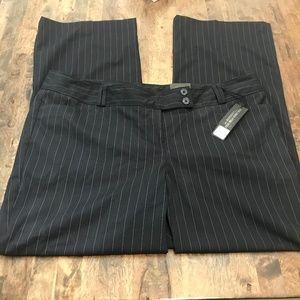 Lane Bryant Sophie Straight Fit 20 Black Pants NWT